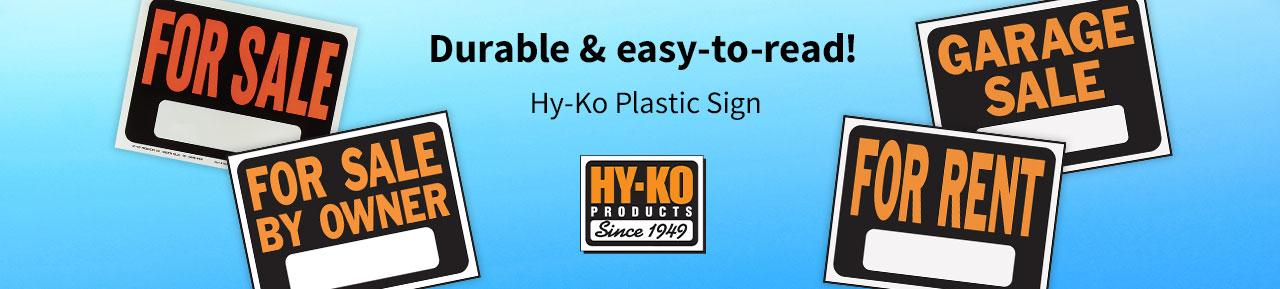 Hyko Signs