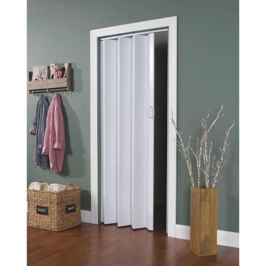 Spectrum Encore 24 In. to 36 In. W. x 80 In. H. White Accordion Folding Door