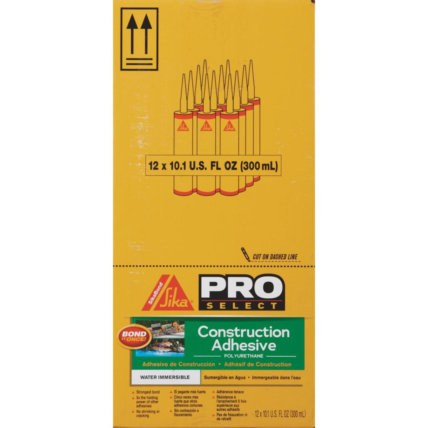 SikaBond Pro Select 10 Oz. High Performance Construction Adhesive Image 2