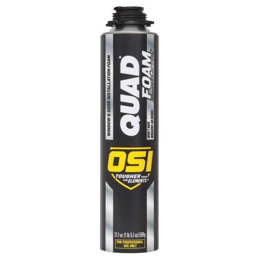 OSI QUAD FOAM 21.1 Oz. Window & Door Foam Sealant