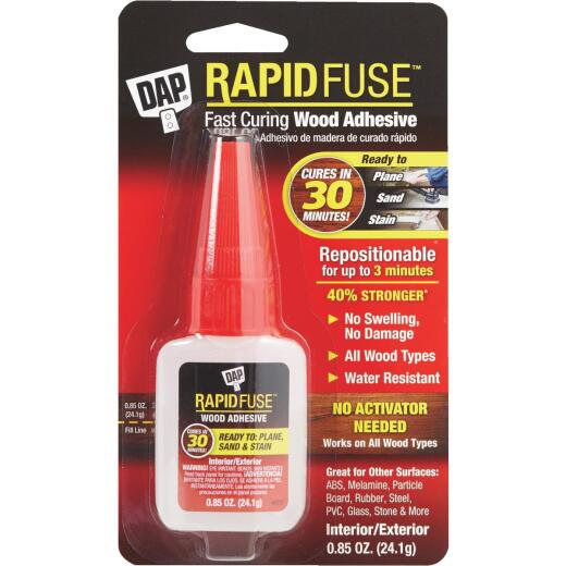 DAP RapidFuse 0.85 Oz. Wood Glue