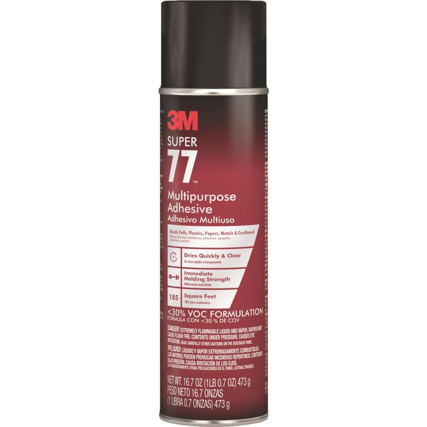 3M Super 77 16.7 Oz. Multi-Purpose Spray Adhesive (California Compliant) Image 1