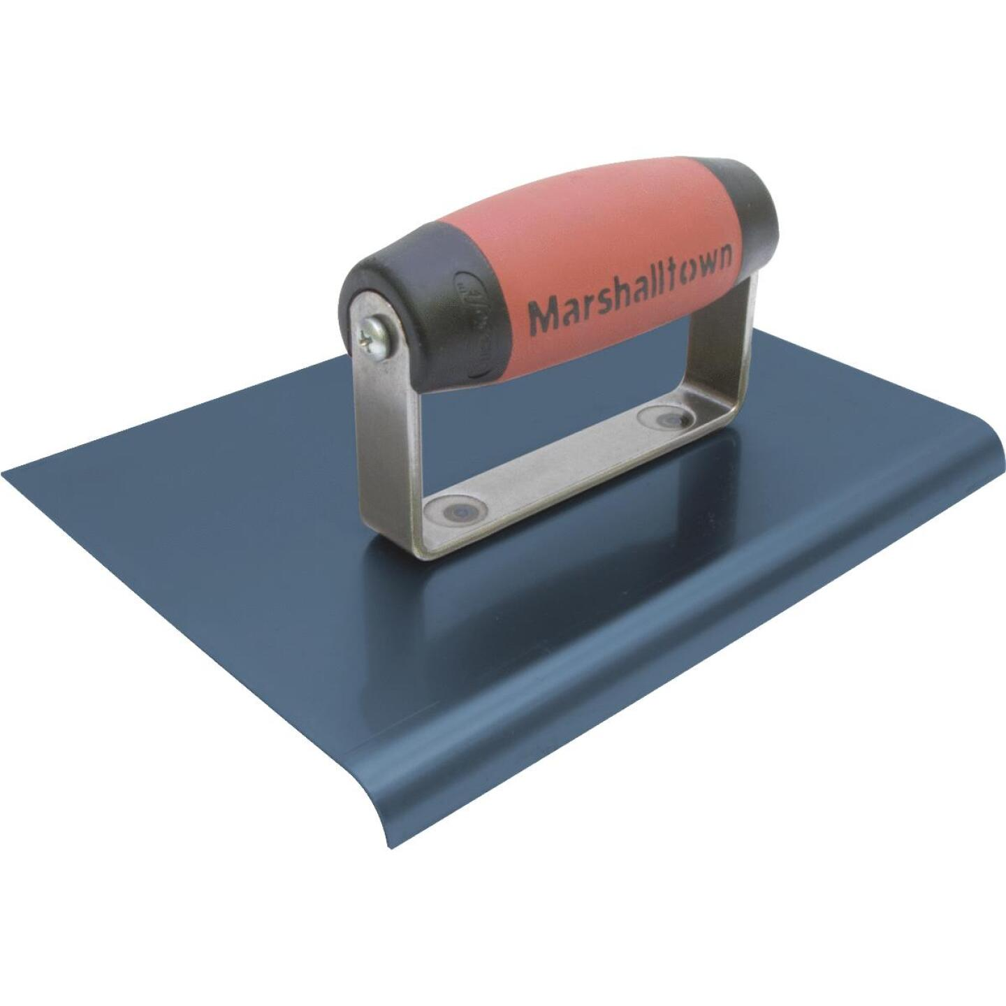 Marshalltown Blue Steel 9 In. x 6 In. Straight End Edger Image 1