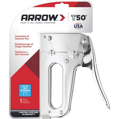Arrow T50 Heavy-Duty Staple Gun