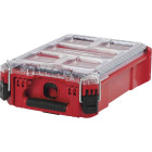 Milwaukee PACKOUT 9.75 In. W x 4.50 In. H x 15.25 In. L Compact Small Parts Organizer with 5 Bins Image 1