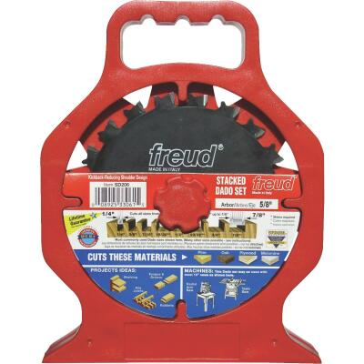 Freud 6 In. Pro Dado Circular Saw Blade Set