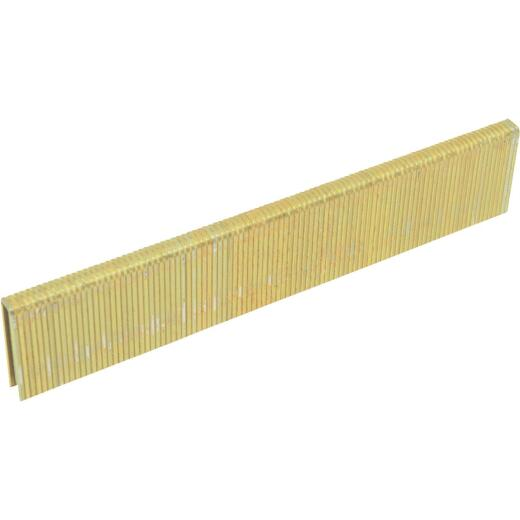Porter Cable 18-Gauge Galvanized Narrow Crown Finish Staple, 1/4 In. x 3/4 In. (5000 Ct.)