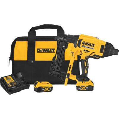 DeWalt 20 Volt MAX XR Lithium-Ion 9 Ga. Cordless Fencing/Construction Stapler Kit