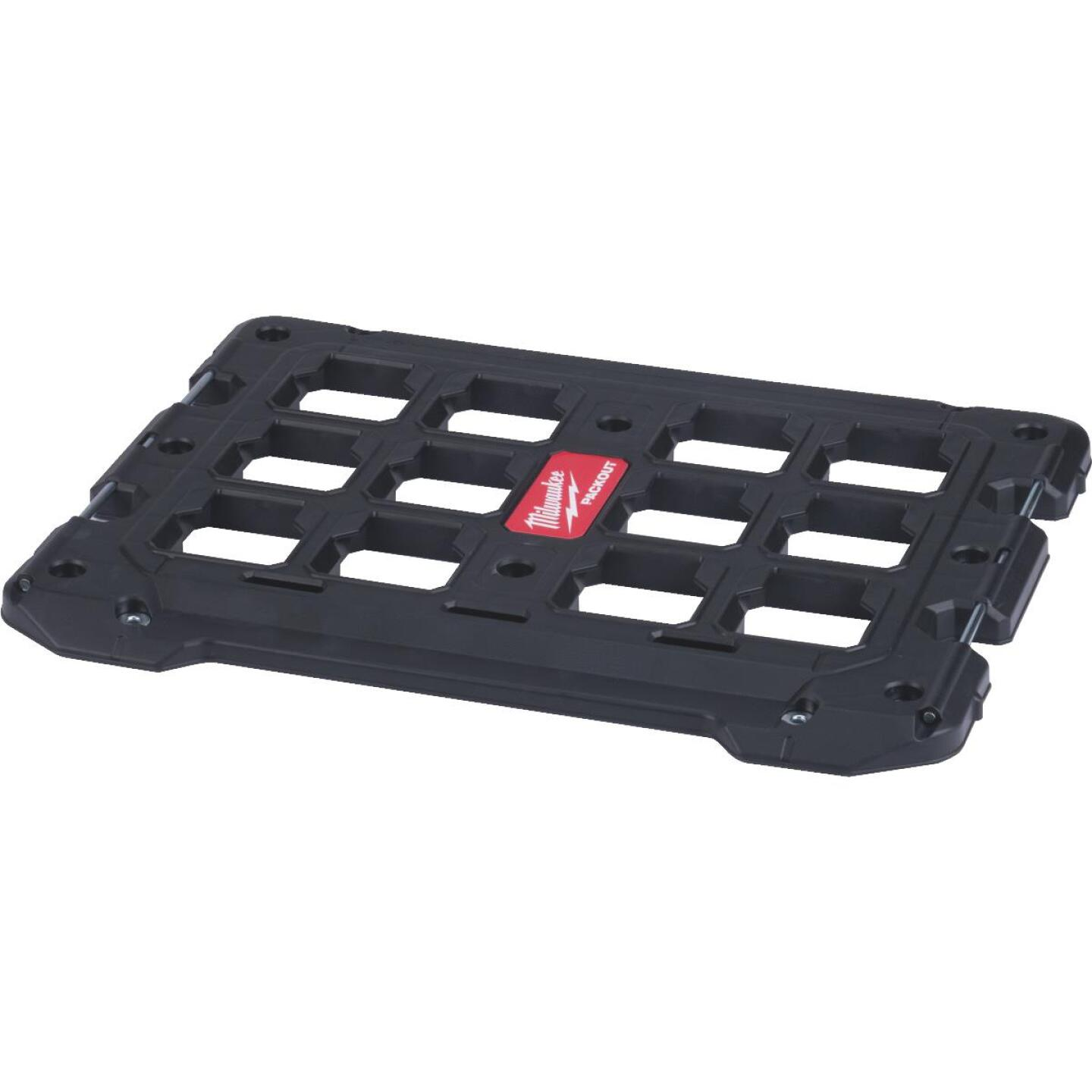 Milwaukee PACKOUT 18.4 In. W x 23.4 In. L Mounting Plate Bracket, 100 Lb. Capacity Image 1