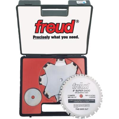 Freud 8 In. Super Dado Circular Saw Blade Set