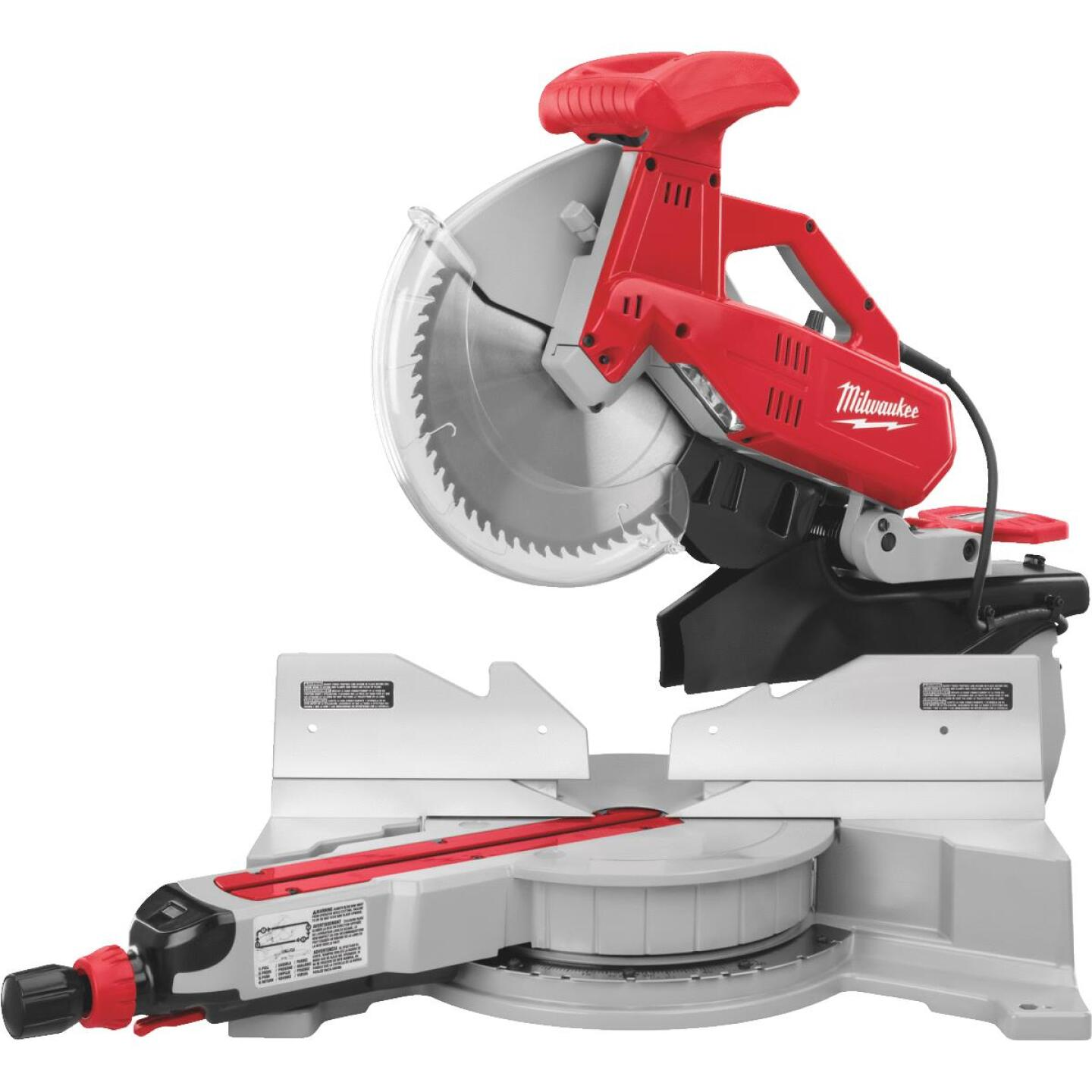 Milwaukee 12 In. 15-Amp Dual-Bevel Sliding Compound Miter Saw Image 1