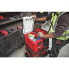 Milwaukee PACKOUT 16 Qt. Compact Cooler, Red/White Image 3