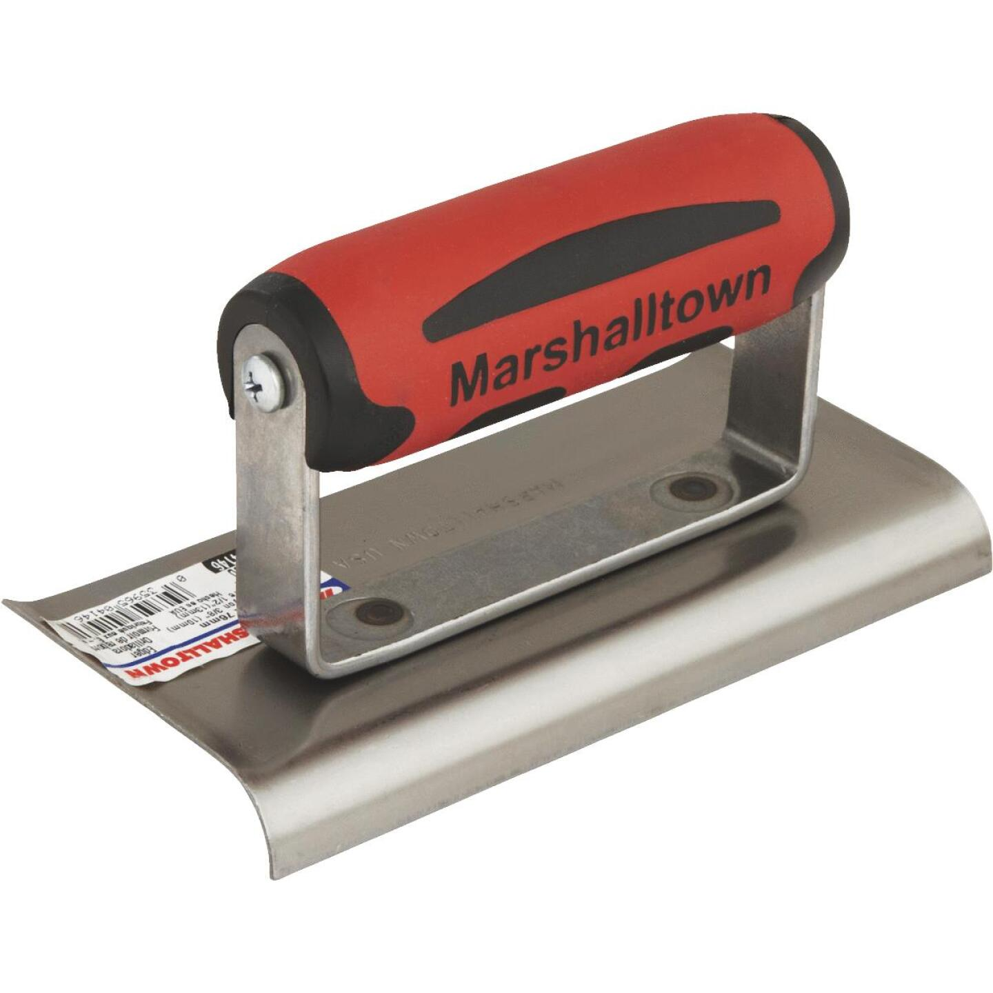 Marshalltown 6 In. x 3 In. Curved End Cement Edger Image 1