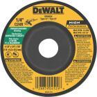 DeWalt HP Type 27 4-1 In. x 1/4 In. x 7/8 In. Masonry Grinding Cut-Off Wheel Image 1