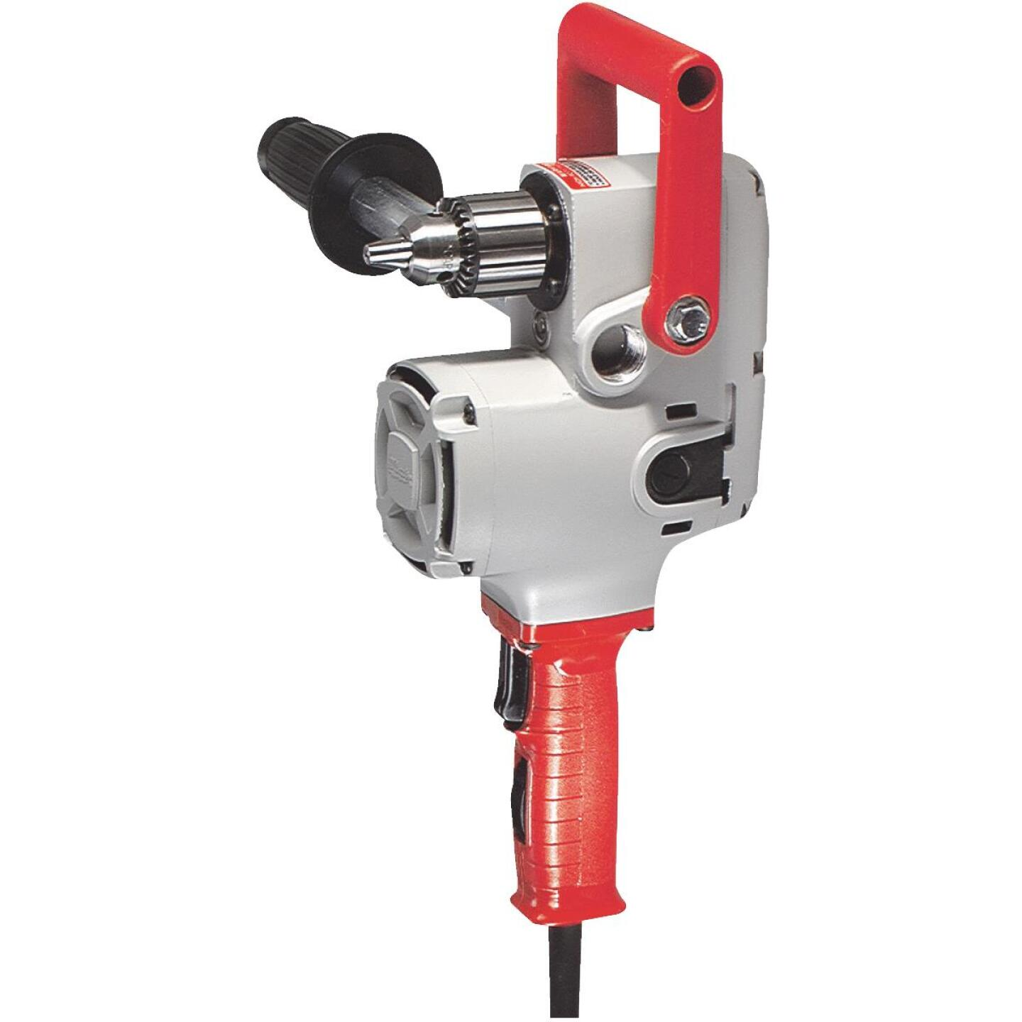 Milwaukee Hole Hawg 1/2 In. 7.5-Amp Keyed Electric Angle Drill with Case Image 1
