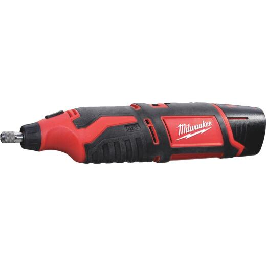 Milwaukee M12 12 Volt Lithium-Ion Variable Speed Cordless Rotary Tool Kit