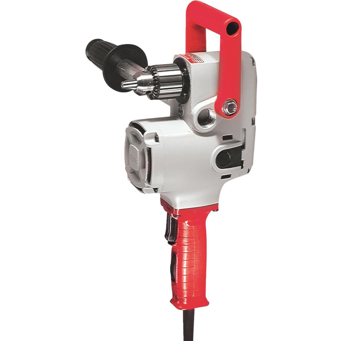 Milwaukee Hole Hawg 1/2 in. 7.5-Amp Keyed Electric Angle Drill Image 1