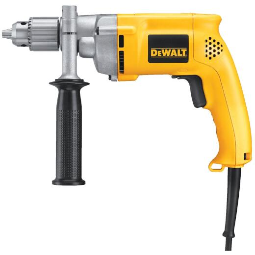 DeWalt 1/2 In. 8.5-Amp Keyed Electric Drill