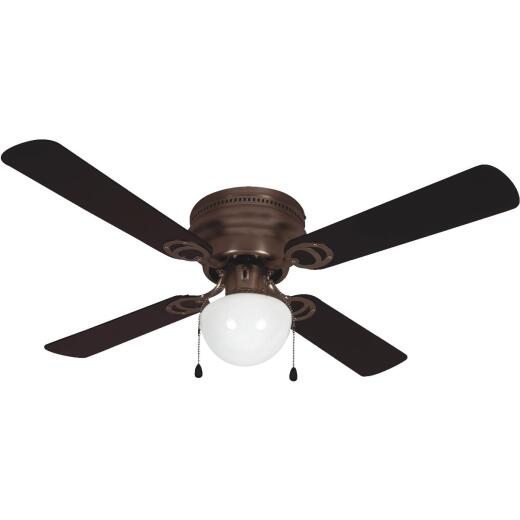 Home Impressions Neptune 42 In. Oil Rubbed Bronze Ceiling Fan with Light Kit