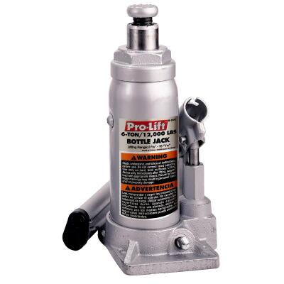 Pro-Lift 6-Ton Hydraulic Bottle Jack