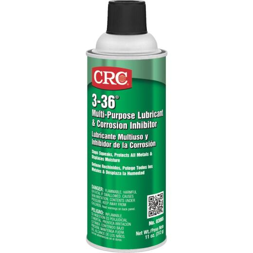CRC Industrial 3-36 11 Oz. Aerosol Multi-Purpose Lubricant