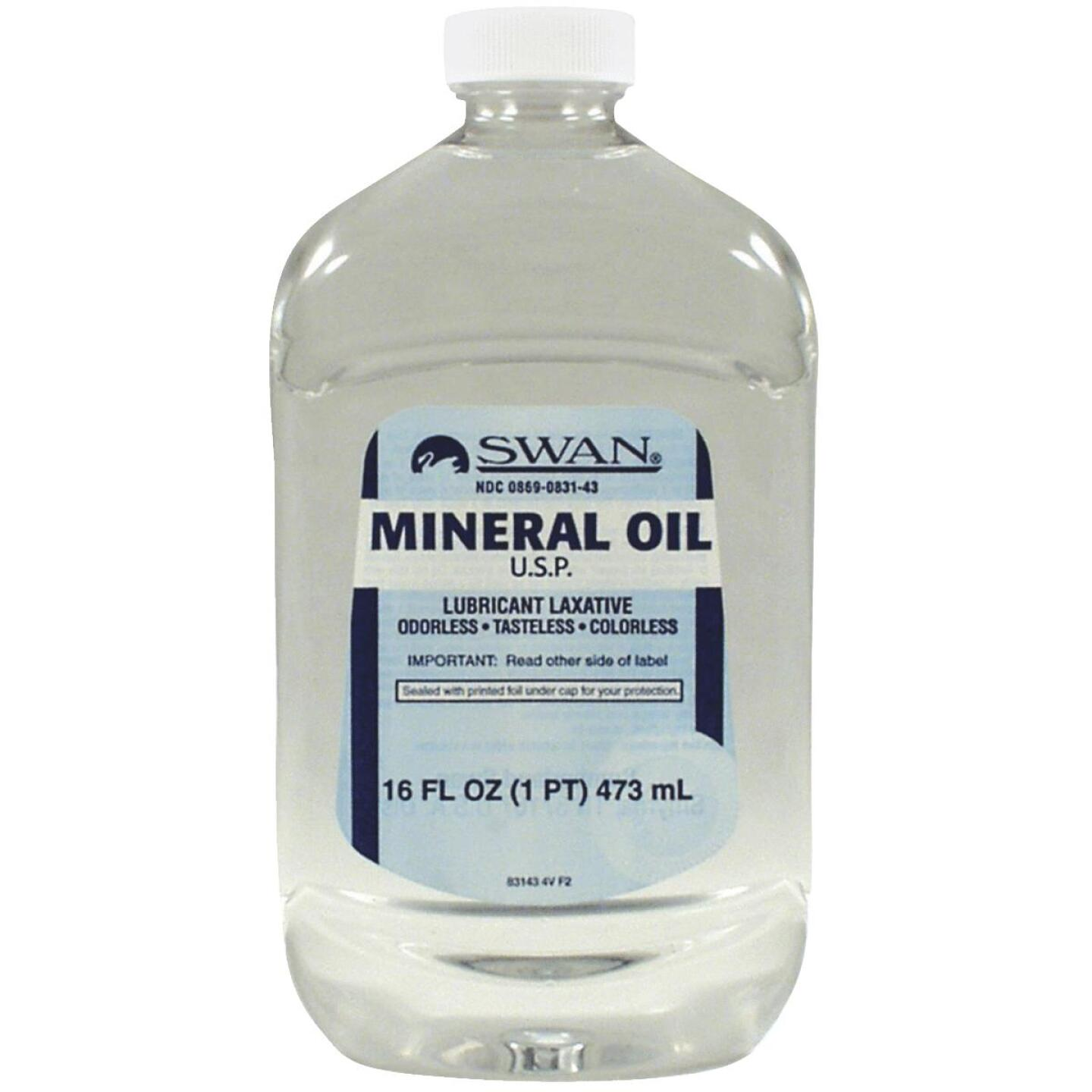 Swan 16 Oz. Tasteless Mineral Oil Image 1