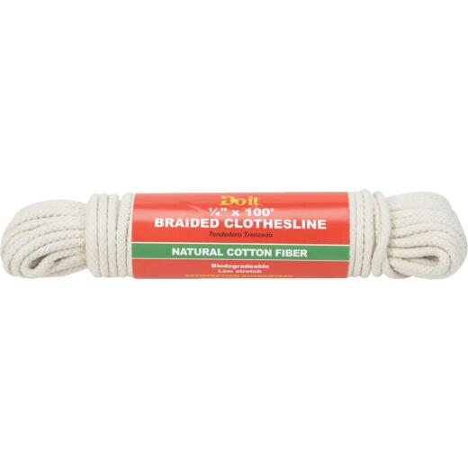 Do it 100 Ft. 1/4 In. Braided Clothesline