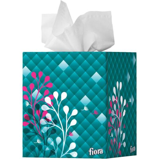 Fiora 86 Count Facial Tissue Cube