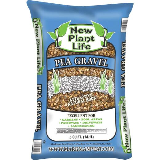New Plant Life 0.5 Cu. Ft. 48 Lb. Pea Gravel