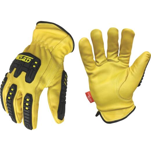 Ironclad Ultimate 360 Impact Men's Large Leather Work Glove