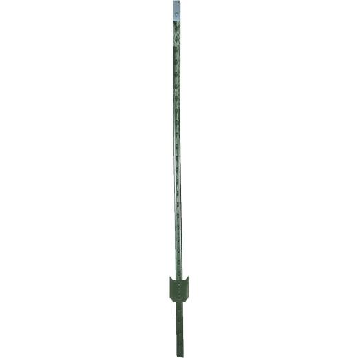 W. Silver 6-1/2 Ft. Steel 1.33 Lb/Ft. Fence T-Post