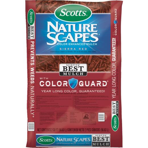 Scotts Naturescapes 2 Cu. Ft. Sierra Red Shredded Hardwood Mulch