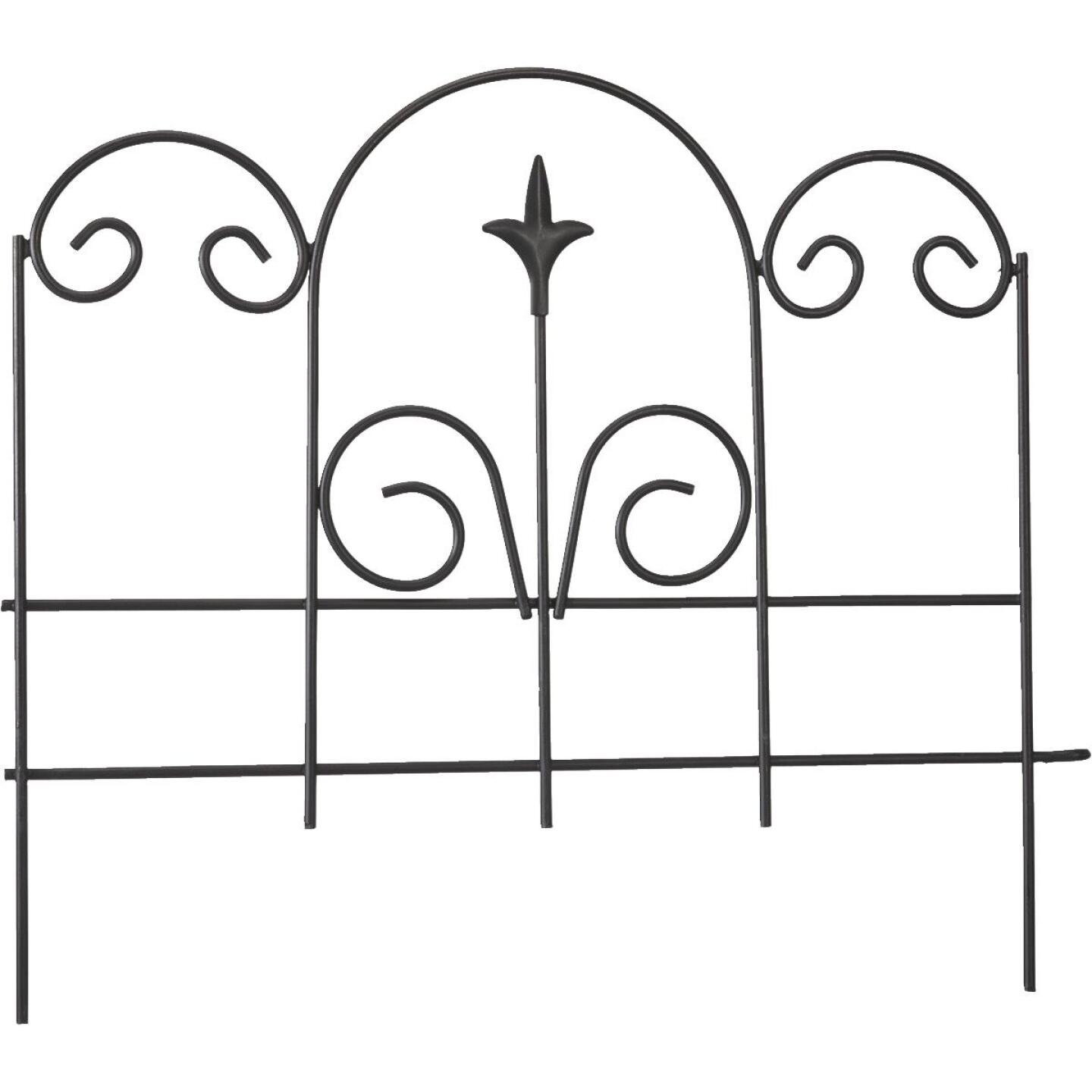 Panacea 16 In. H x 18 In. L Metal Decorative Border Fence Image 1