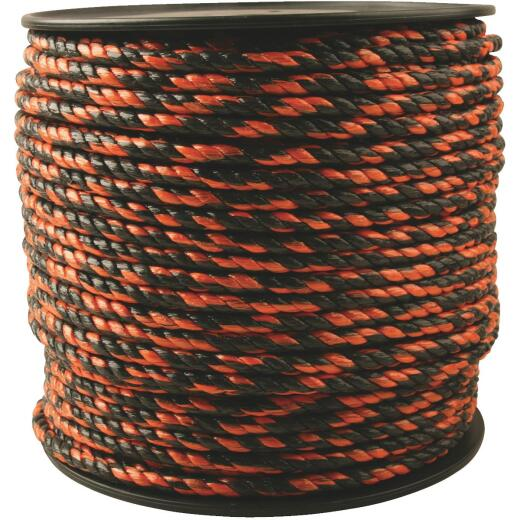 Do it 3/8 In. x 450 Ft. Orange & Black Truck Polypropylene Rope