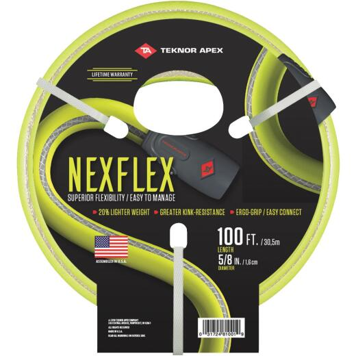 NexFlex 5/8 In. Dia. x 100 Ft. Garden Hose