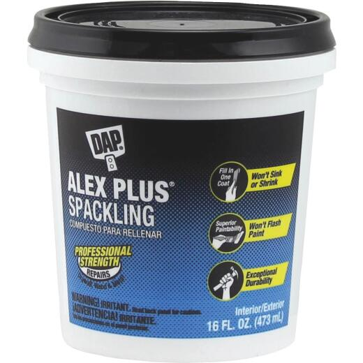 DAP ALEX PLUS 16 Oz. Professional Latex Spackling