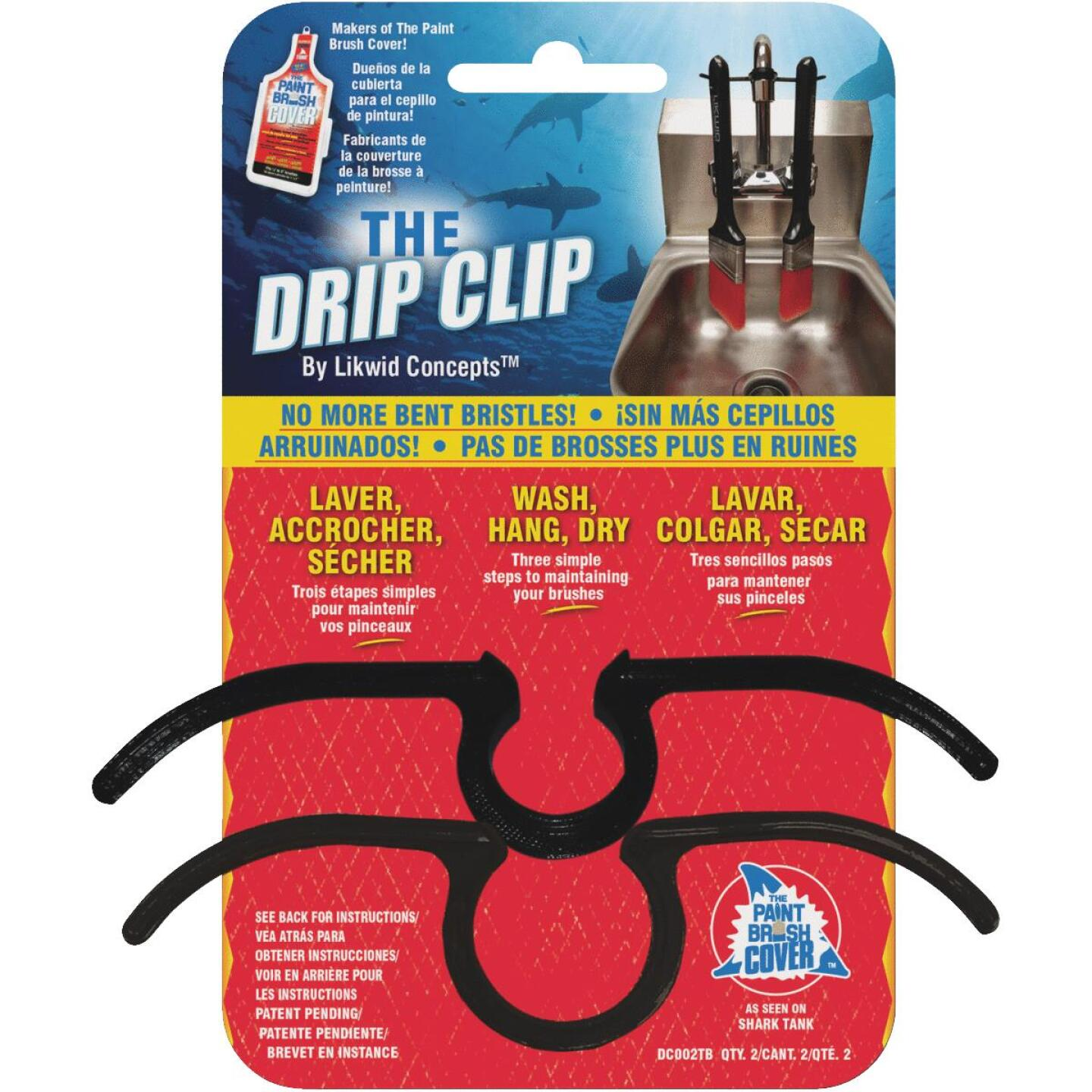 Likwid Concepts The Drip Clip Brush Clip (2 Count) Image 1
