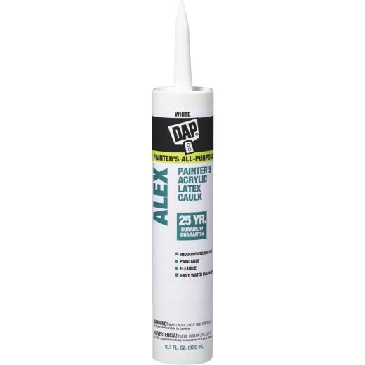 DAP ALEX 10.1 Oz. White Painter's Acrylic Latex Caulk