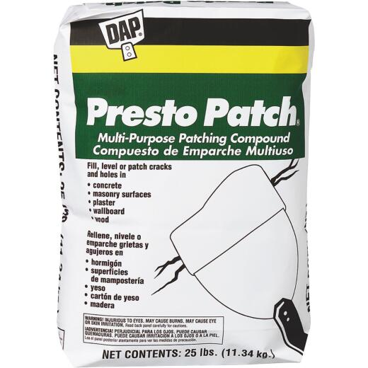DAP Presto Patch 25 Lb. White Patching Compound