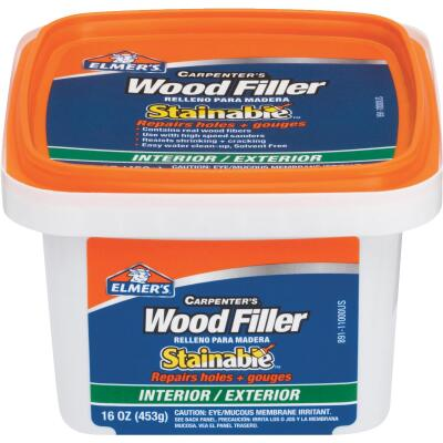 Elmer's Stainable Light Tan 16 Oz. Wood Filler