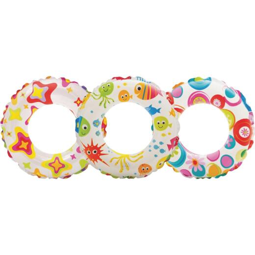 Intex 20 In. Lively Print Pool Tube Float